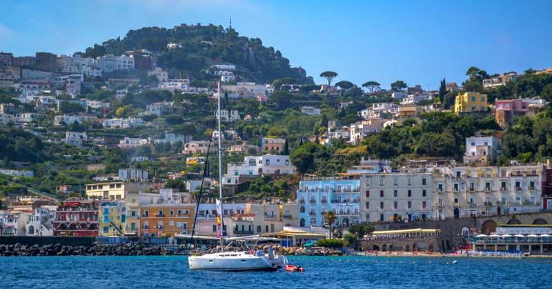 Neapol - wybrzeże Amalfi