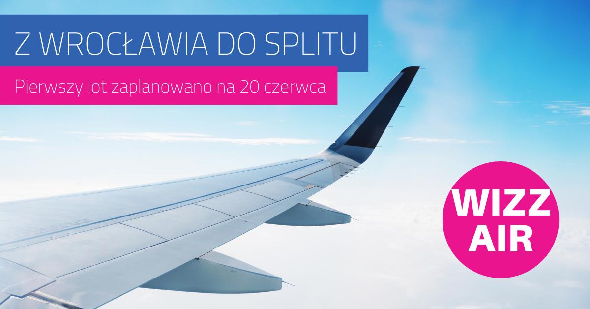 Nowe połączenie lotnicze z Wrocławia do Chorwacji