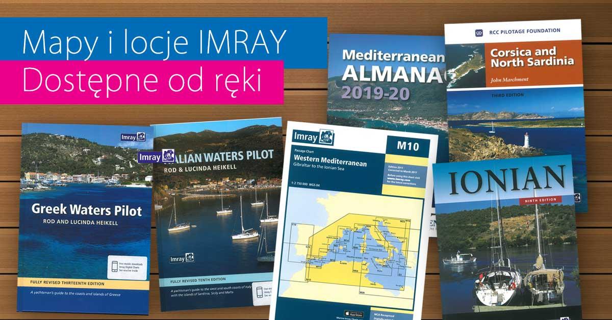 Locje i mapy IMRAY dostępne od ręki
