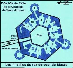 Muzeum Marynarki Wojennej w Saint-Tropez