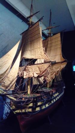 Muzeum morskie w Londynie foto: Kasia Koj