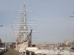 Żaglowiec Duchesse Anne w Dunkierce foto: Kasia Kowalska
