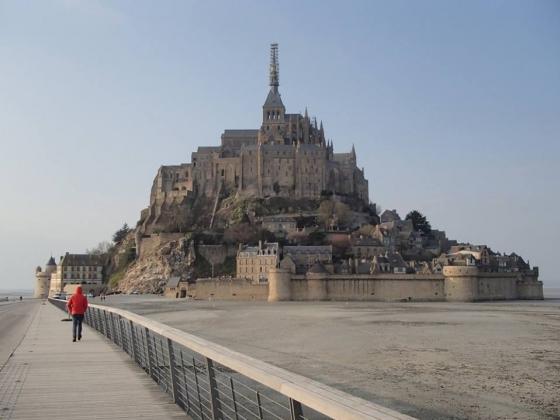Wzgórze Świętego Michała (Mont Saint-Michel 2015)