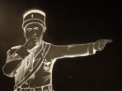 Słynny żandarmów z Saint-Tropez zaprasza foto: Katarzyna Kowalska