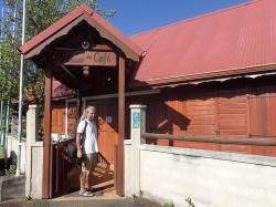 Muzeum kawy na Gwadelupie, zapraszamy do środka foto: Kasia