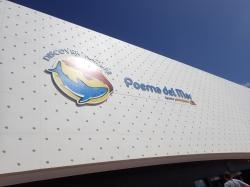 """Aquarium """"Poema del Mar"""" mieści się w bardzo nowoczesnym budynku foto: Kasia Koj"""