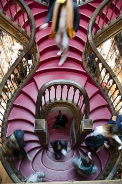 Księgarnia Lello (Porto) foto: Michał Czaplicki
