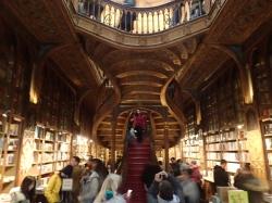 Księgarnia Lello (Porto) foto: Kasia Koj
