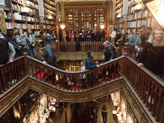 Księgarnia Lello (Porto, styczeń 2019)