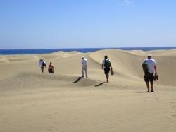 Dunas de Maspalomas często nazywana Saharą foto: Kasia Koj