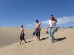 Wracamy do cywilizacji, znowu przez piach foto: Kasia Koj