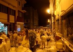 """Karnawał na La Palma - spotkanie na szczycie """"białych"""" postaci foto: Piotr Kowalski"""