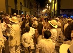 Talk, rum i zabawa do białego rana - Karnawał na Wyspach Kanaryjskich w Santa Cruz na wyspie La Palma 2019 foto: Kasia Koj
