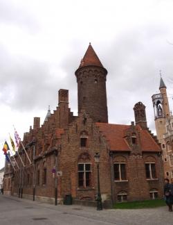 Historyczne centrum Brugii znajduje się od 2000 roku na liście światowego dziedzictwa UNESCO. foto: Piotr Kowalski