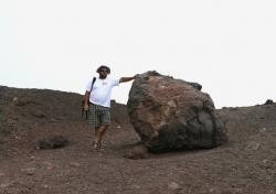 Wulkan Etna zdobyty, jeszcze jedna fotka zdobywcy | Charter.pl foto: Kasia Koj