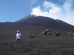 Wulkan Etna zdobyty w drodze powrotnej podziwiany znowu widoczki | Charter.pl foto: Katarzyna Kowalska