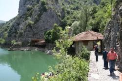 Macedoński raj, Kanion Matka   Charter.pl foto: Kasia Koj