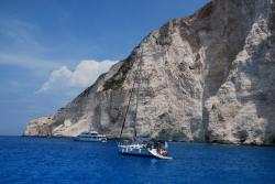 Rok 2015 - Zatoka Wraku nadal przyciąga swoim błękitem | Charter.pl foto: Jan Dziędziel