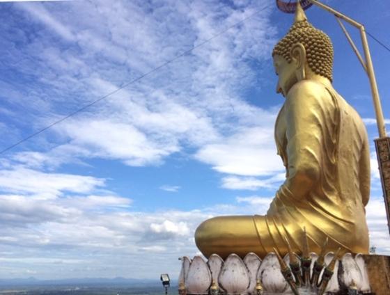 Świątynia Jaskini Tygrysa (Wat Tham Suea, Krabi, Tajlandia 2018)