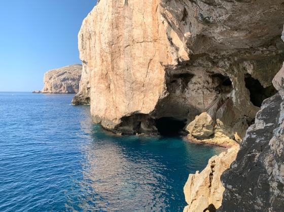 Grota Neptuna (Sardynia, Alghero, październik 2019)