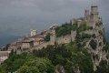 Zamek w San Marino  foto: Jola Szczepańska