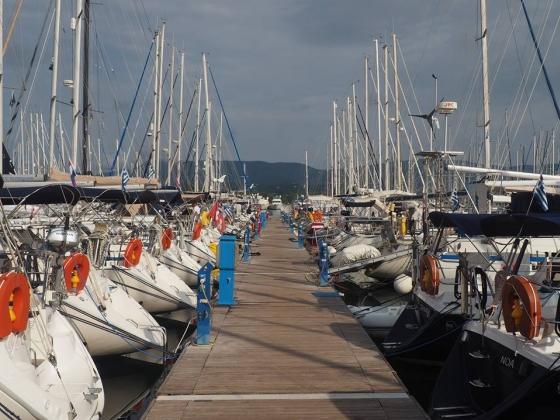 M�j pierwszy kapita�ski rejs (Grecja, Morze Jo�skie, wrzesie� 2016)