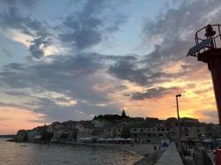 Primosten - niezapomniany widok od strony morza foto: Basia