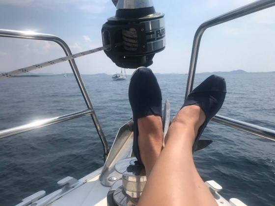 Wakacyjne żeglowanie (Chorwacja, sierpień 2018)