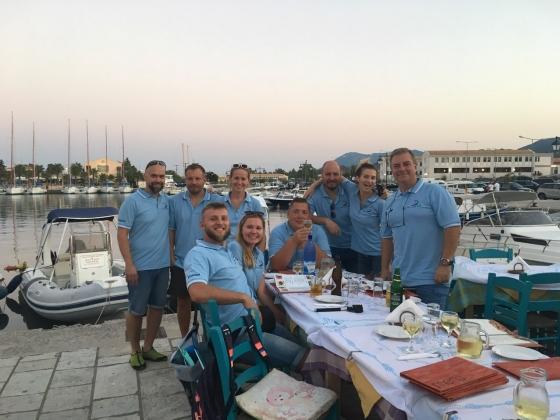 Wrześniowe żeglowanie po Morzu Jońskim (Grecja 2018)