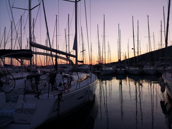 Wiosenne żeglowanie w Chorwacji (kwiecień, 2019)