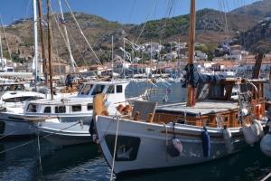 Jesienne żeglowanie w Grecji foto: Jola i Piotr Szczepańscy