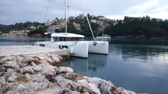 Jesienną porą na Morzu Jońskim (Korfu, październik 2019)