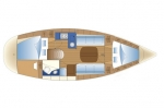 Przykładowy schemat Bavaria 30 Cruiser