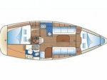 Przykładowy schemat Bavaria 31 Cruiser