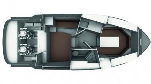 Schemat jachtu Bavaria S29 OPEN | Charter.pl