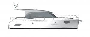 Schemat jachtu Bavaria E40 Sedan | Charter.pl foto: www.yacht-charter-center.de