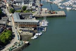 The Trident Marina in Kinsale foto: www.marinas.com