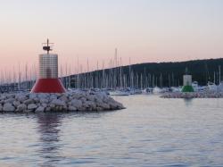 Główki portu - Marina Dalmacija