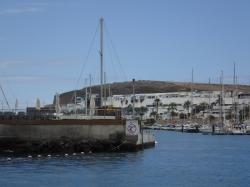 Główki portu Pasito Blanco  foto: Kasia Koj
