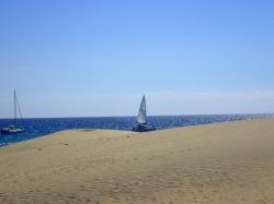 Dunas de Maspalomas - potocznie nazywana Saharą foto: Kasia Koj