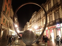Las Palmas wieczorową porą - stolica Gran Canarii foto: Kasia Koj