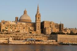 Wejście do portu Valletta foto: Kasia Koj
