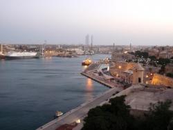 Wieczorową porą na Malcie foto: Kasia Koj