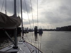 Londyn od strony wody foto: Kasia Koj