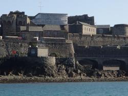 Castle Cornet jedna z atrakcji na wyspie Guernsey foto: Katarzyna Kowalska