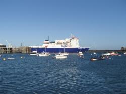 Port pływowy St.Peter na wyspie Guernsey  foto: Katarzyna Kowalska
