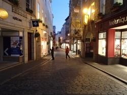 Wieczorny spacer po miasteczku St. Peter foto: Katarzyna Kowalska
