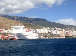 Port Santa Cruz na wyspie La Palma foto: Kasia Koj