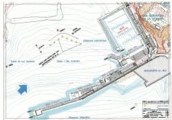 Plan podejścia do mariny foto: www.marinalagomera.es