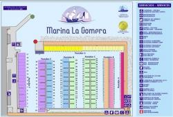 Schemat mariny foto: www.marinalagomera.es
